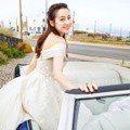 迪麗熱巴披白紗太迷人!又甜又性感,融化網友上熱搜