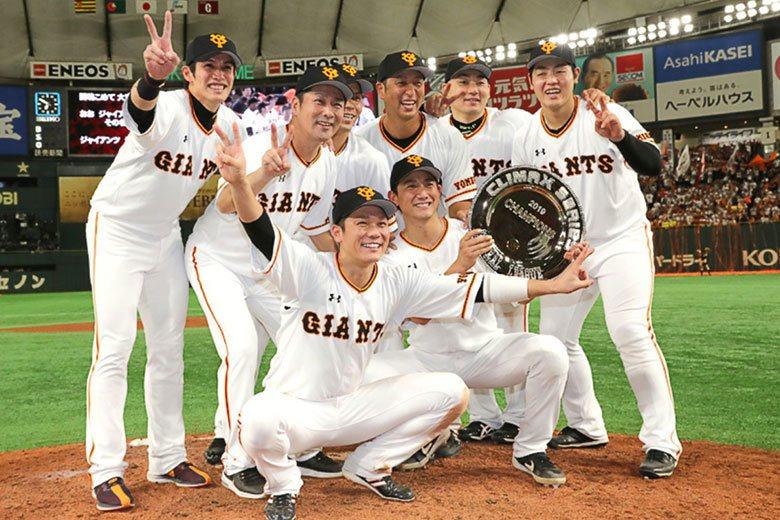 巨人隊相隔7年再度打進總冠軍賽,全隊將為阿部慎之助再拚一次日本一優勝。 擷圖自讀...