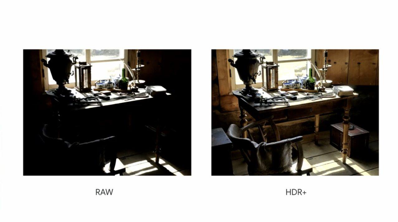 Pixel 4系列相機功能再升級,包含HDR+強化模式。圖/摘自發表會