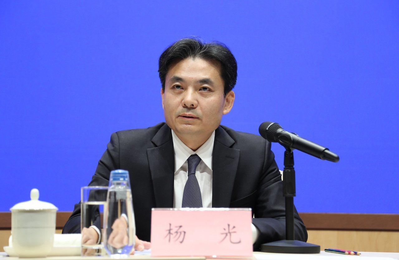 大陸國務院港澳事務辦公室發言人楊光。圖/取自中新社