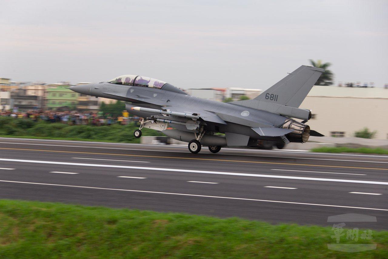 F-16戰機。圖/軍聞社