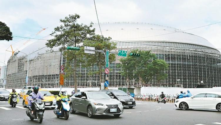 大巨蛋案14日通過台北市都審會審查,全案修正通過。圖/本報資料照片