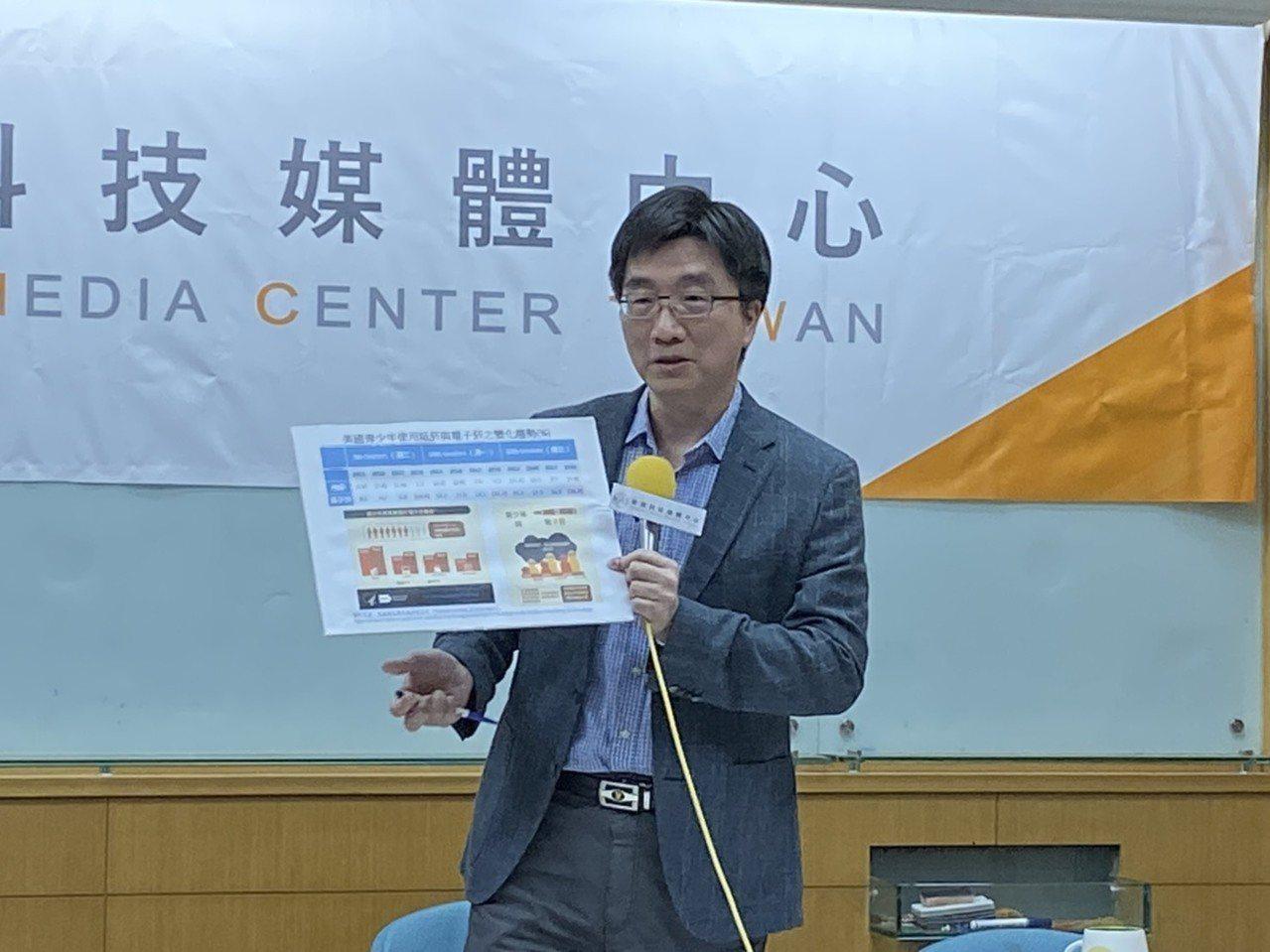 台北榮總家醫科醫師賴志冠表示,以國外數據來看,電子煙發展後,紙菸的族群雖減少但有...