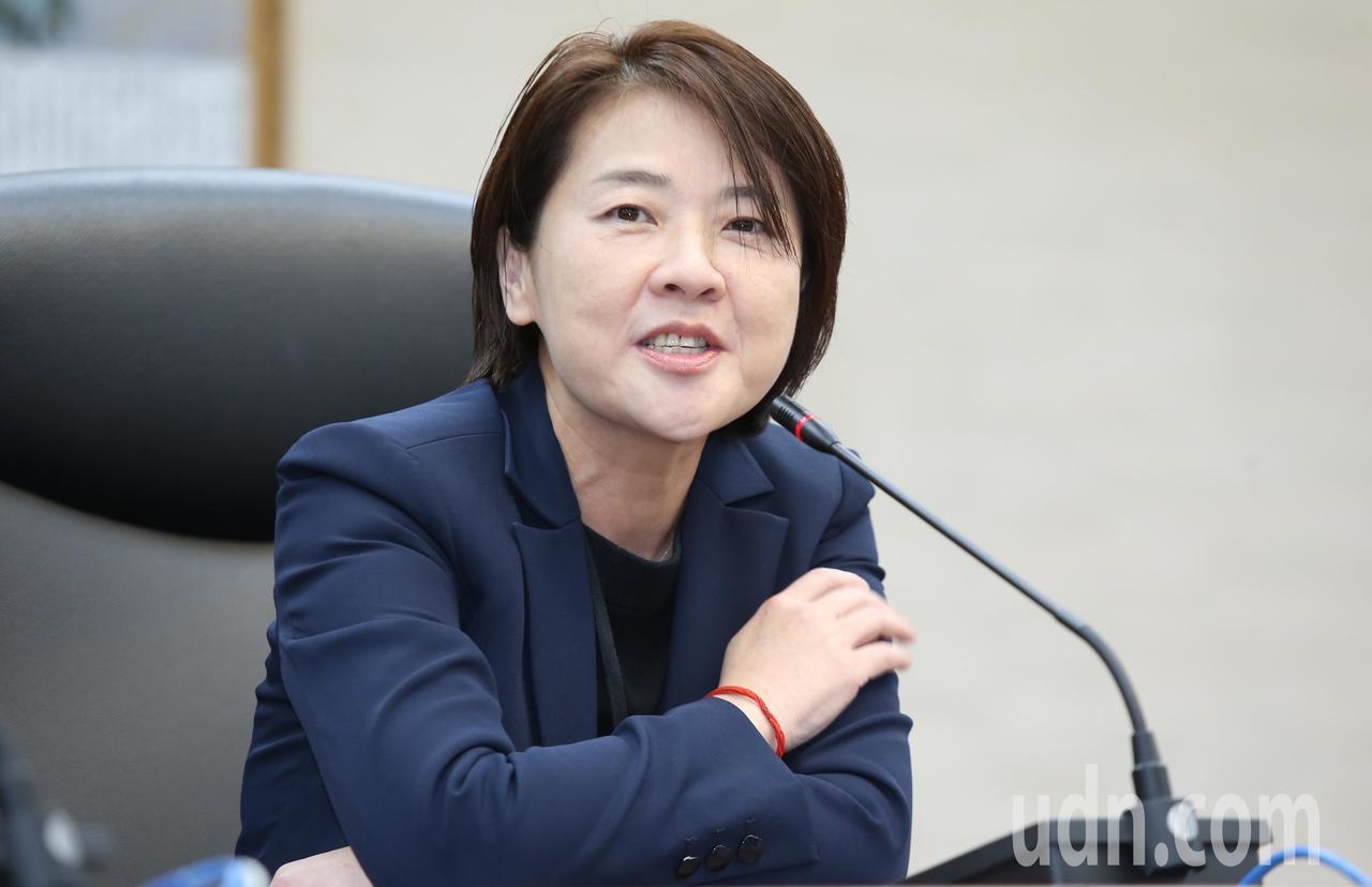 親民黨台北市議員黃珊珊告別台北市議員身分,上午正式接任台北市副市長。記者曾學仁/...