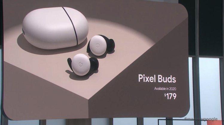 Pixel Buds真無線藍牙耳機,建議售價美金179元,預計2020年春季上市...