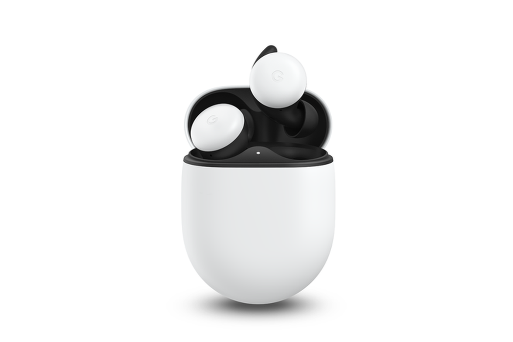 Pixel Buds搭配無線充電盒,最長可達24小時續航。圖/摘自發表會