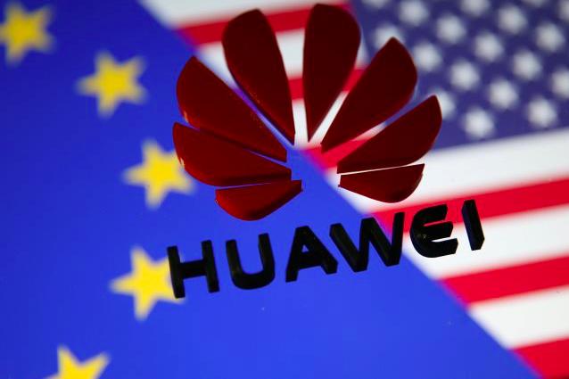 華為已經簽訂的65份5G商業合約中,有半數來自歐洲客戶。(路透社資料圖片)
