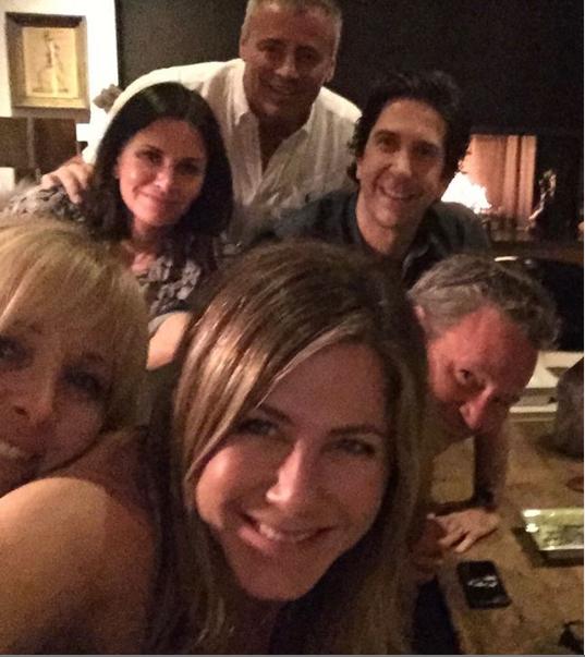 珍妮佛.安妮斯頓昨天首度在Instagram上PO文。取自Instagram(@...