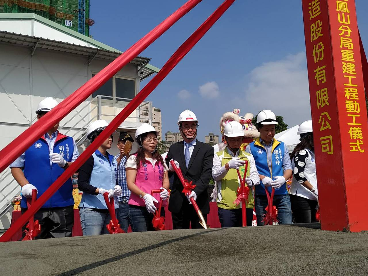 高雄鳳山警分局辦公廳舍老舊,經列入前瞻計畫後,工程經費近5億元,地點選在鳳山區內...