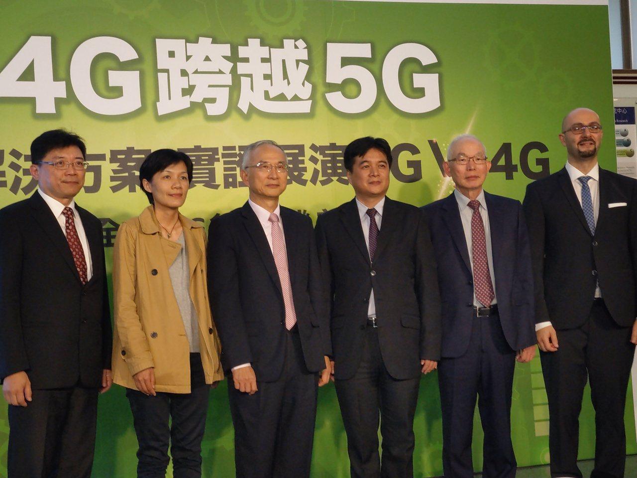 亞太電信創新應用再下一城,攜手交通大學展演最新5G應用整合成果。記者黃晶琳/攝影