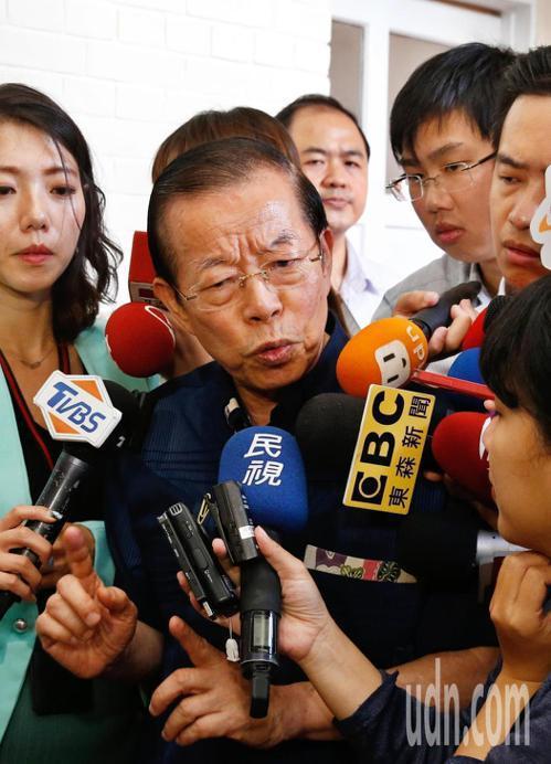 駐日代表謝長廷。本報資料照片