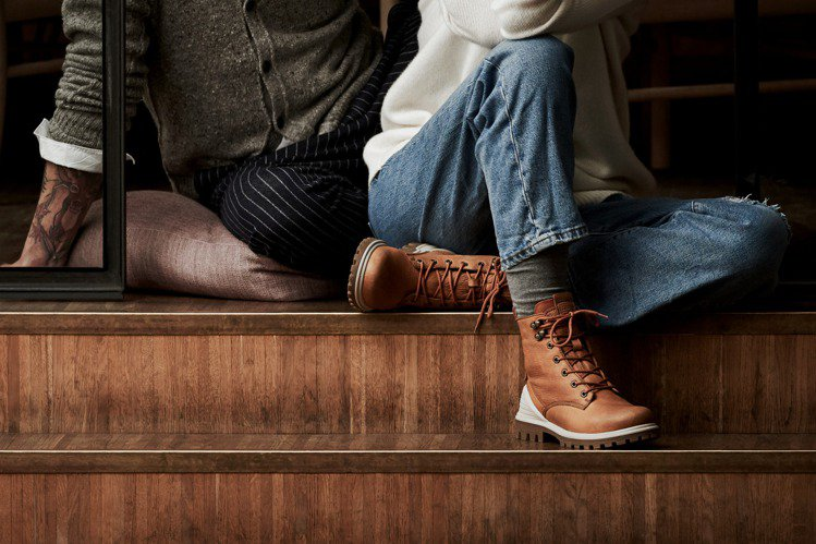 ECCO 秋冬新品TREDTRAY™潮流靴款。圖/ECCO 提供