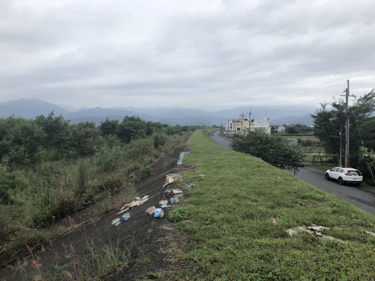 宜蘭縣柯林自行車環線道路從廣興橋至北成橋,仍有2100公尺尚未舖設,此案向水利署...