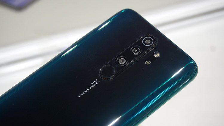 Redmi Note 8 Pro搭載全焦段AI四鏡頭,為台灣首款上市的6400萬...