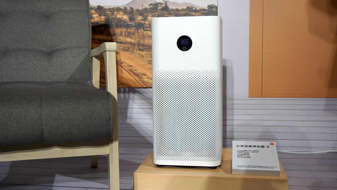 小米空氣淨化器3,建議售價4,495元。10月22日於小米商城mi.com、小米...