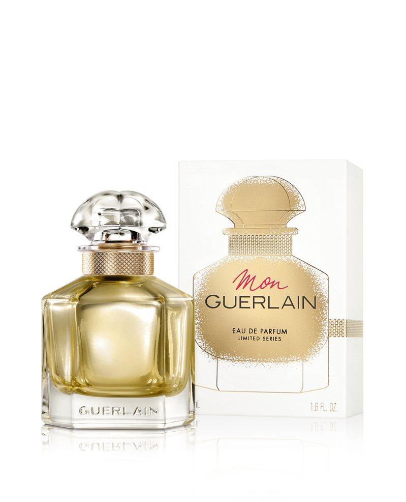 Mon Guerlain我的印記淡香水 金奢摯愛限量款 50ml/3,950元。圖/嬌蘭提供