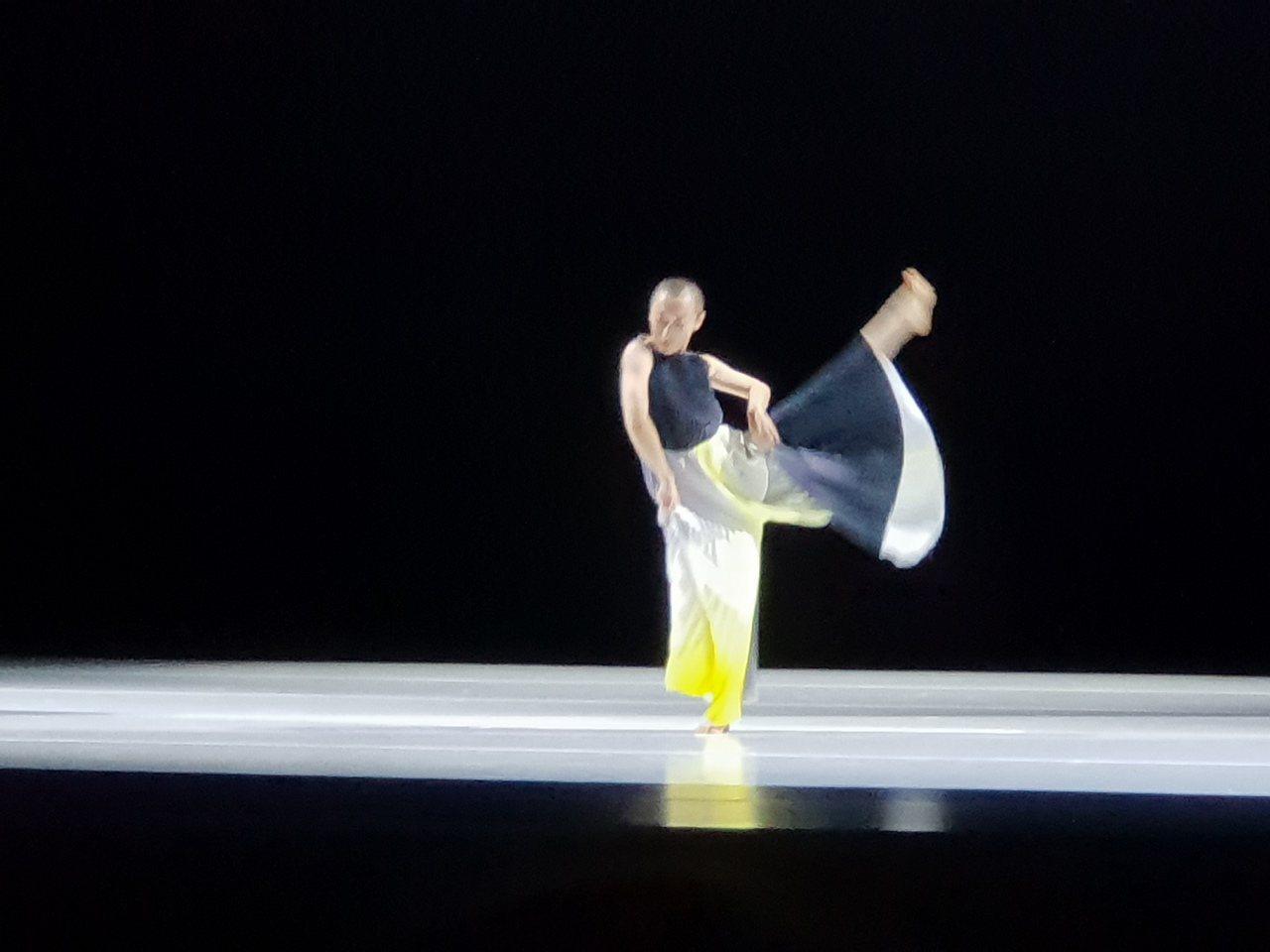 鄭宗龍為陶身體舞者創作「乘法」。記者陳宛茜/攝影