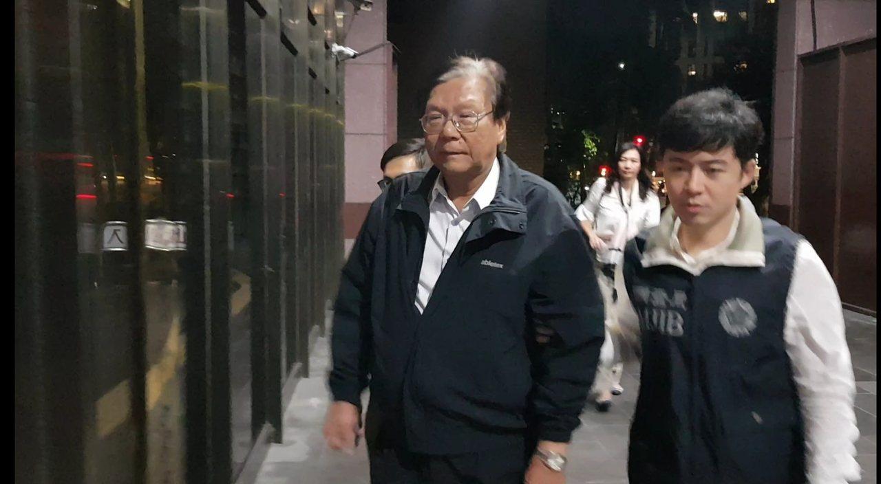 福懋前副總黃明堂被檢方聲押。記者張宏業/攝影