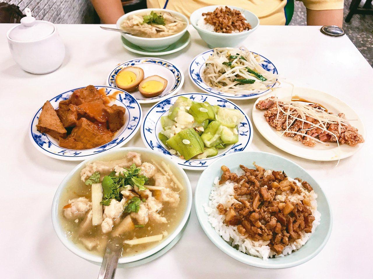 為了健康而制定的均衡外食公式,在面對不油的滷肉飯和炒青菜,內心沒有很快樂。 圖/...