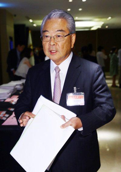 三三會理事長許勝雄表示,今、明年台灣經濟仍相當嚴峻。圖/聯合報系資料照片