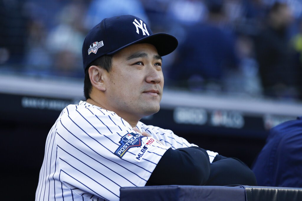 洋基日籍投手田中將大知道太空人擅長偷暗號。 美聯社