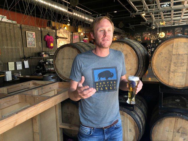 美國丹佛啤酒公司創辦人貝傑(Charlie Berger)。路透