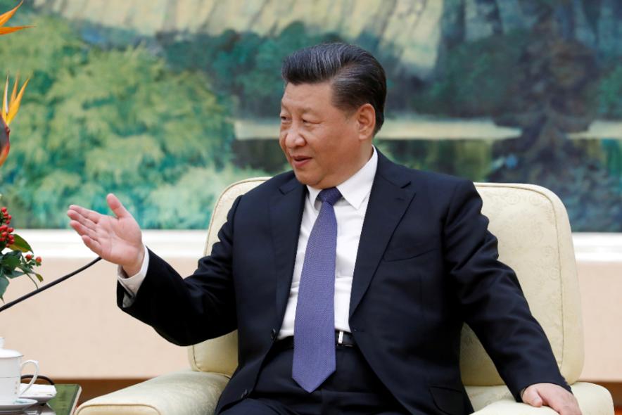 中共總書記習近平今天以書面公開宣稱,中國的脫貧攻堅戰已取得重大進展。 路透社
