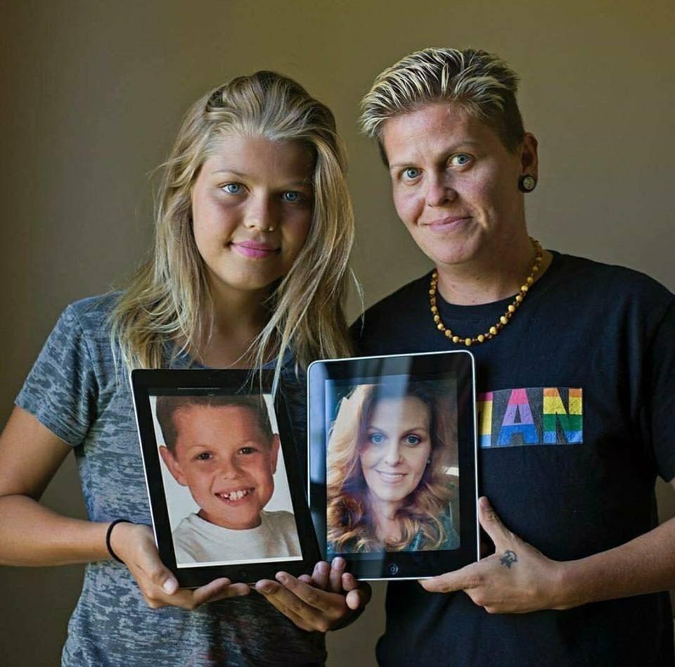 育有6名子女的Eric,在兒子的啟發下決定跟對方一同變性,成為首對變性父女的母子...