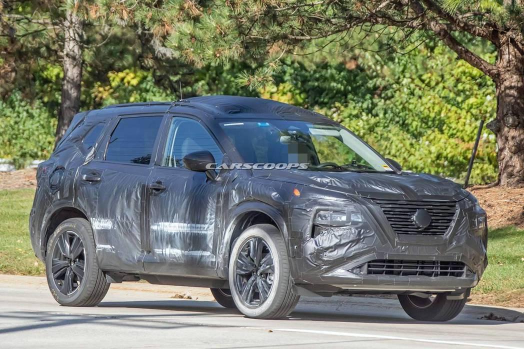 距離量產版更為接近的新世代Nissan Rogue/X-Trail。 摘自Car...