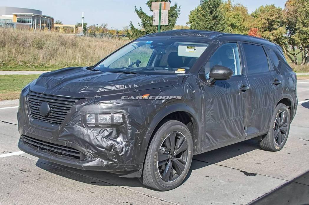 新世代 Nissan Rogue/X-Trail車頭神韻像極了九月初甫發表的第二...