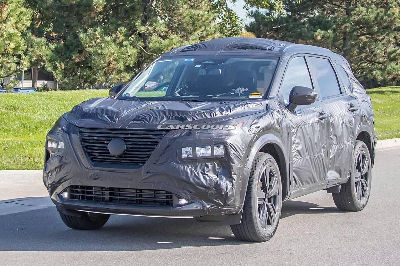 大改款Nissan Rogue/X-Trail外觀逐漸明朗 大尺寸螢幕、數位儀表入列!