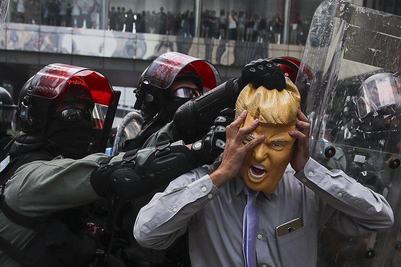 攝於9月29日,香港。 圖/歐新社