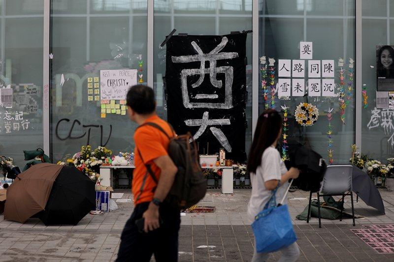 攝於10月17日,香港。 圖/路透社