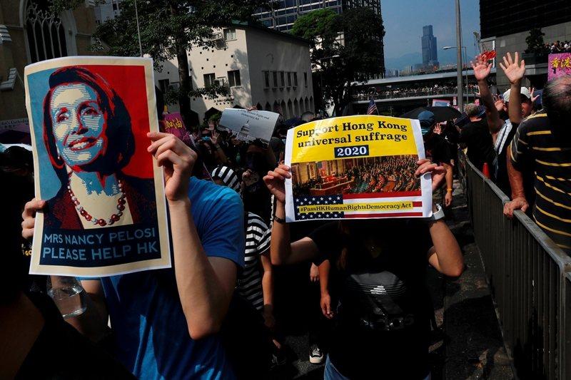 攝於9月8日,香港。 圖/路透社