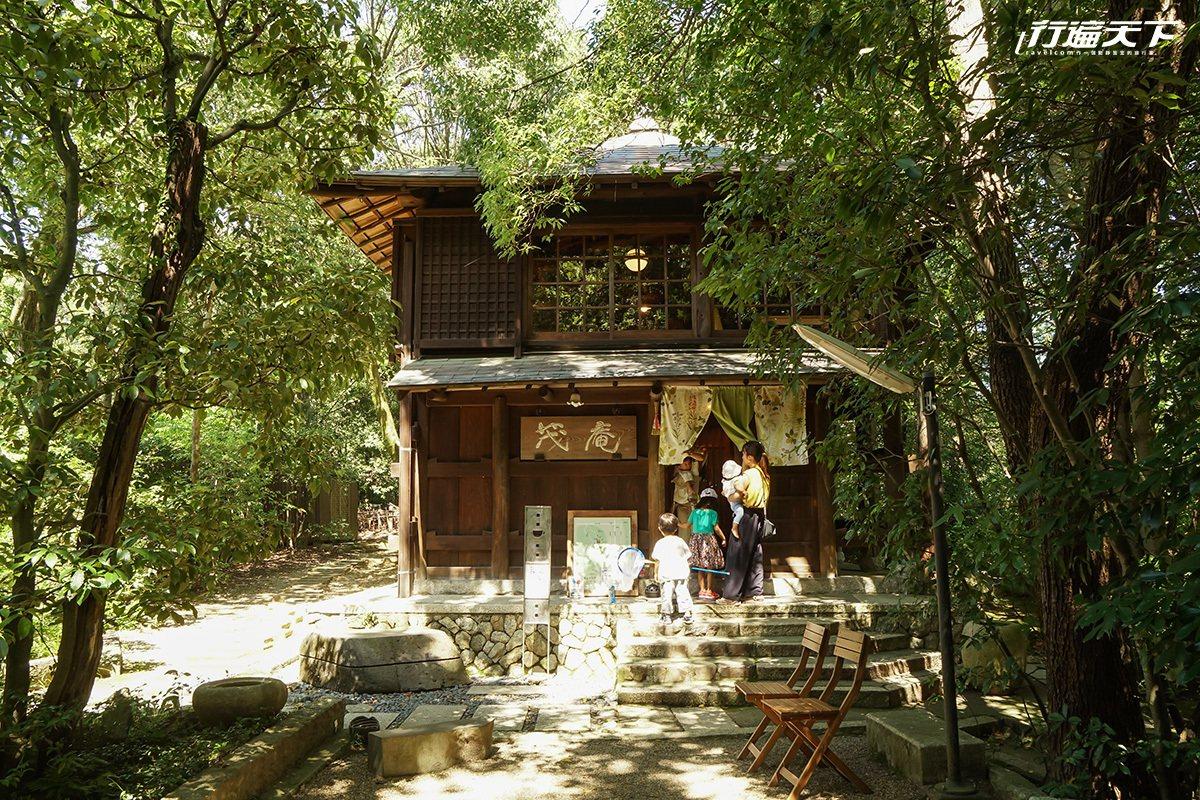 ▲與老房子一起呼吸的室內空間,被森林包圍好幸福。