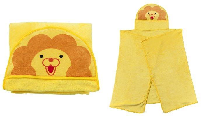 「波堤獅帽帽毯」消費滿百可以388元加購。圖/Mister Donut提供