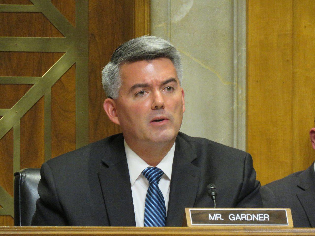 美國聯邦參議院外委會亞太小組主席賈德納。華盛頓記者張加/攝影