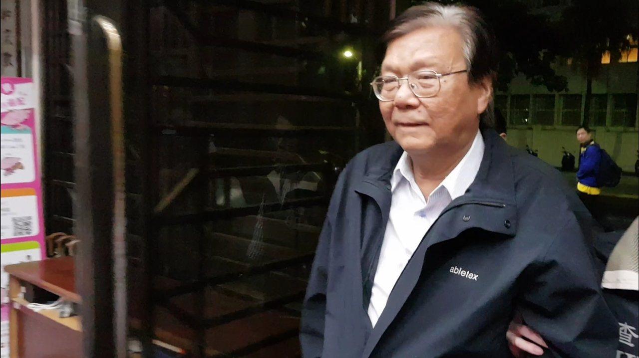 福懋前副總黃明堂收賄千萬被檢方聲押。記者張宏業/攝影