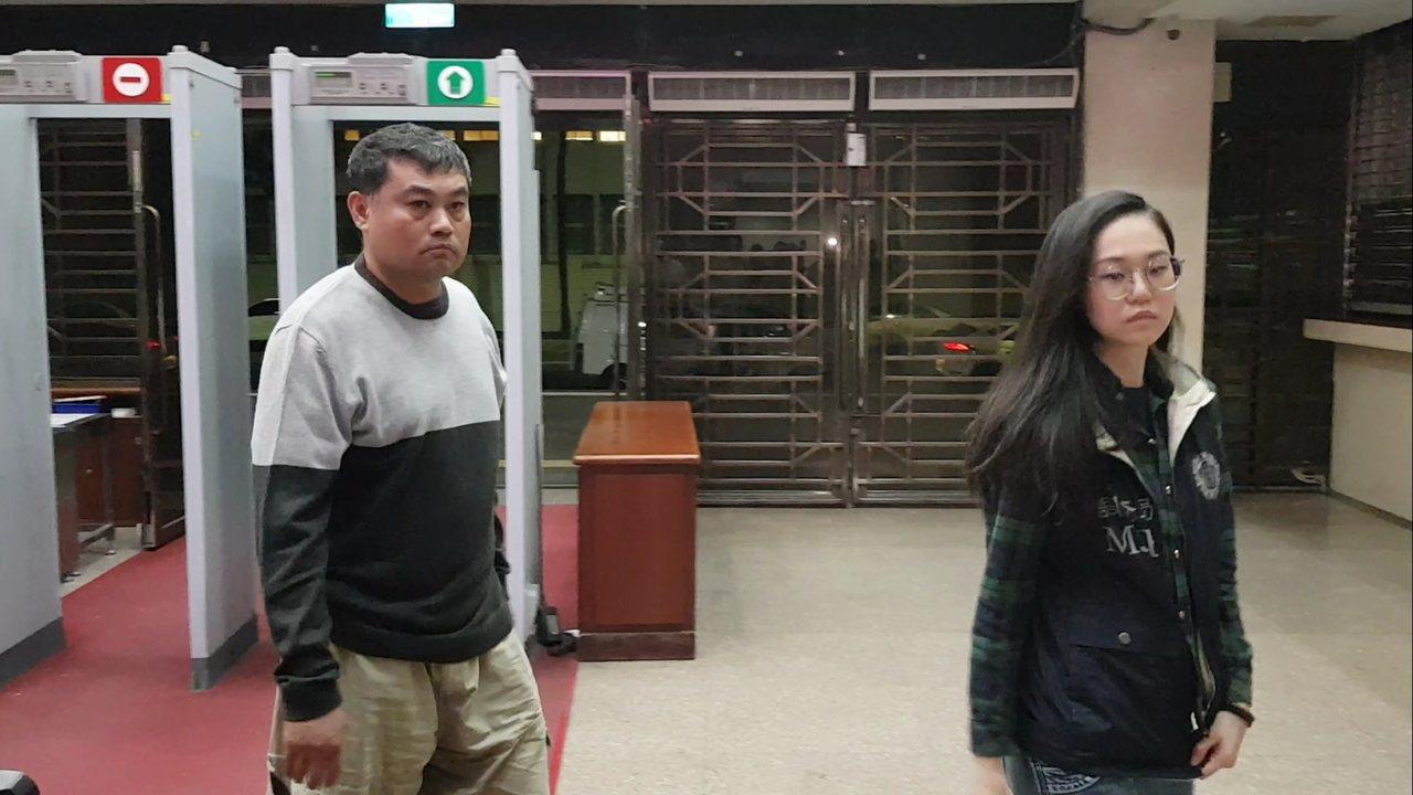 「百纖果屋」現任老闆蕭炯桂充當白手套遭聲押。記者張宏業/攝影