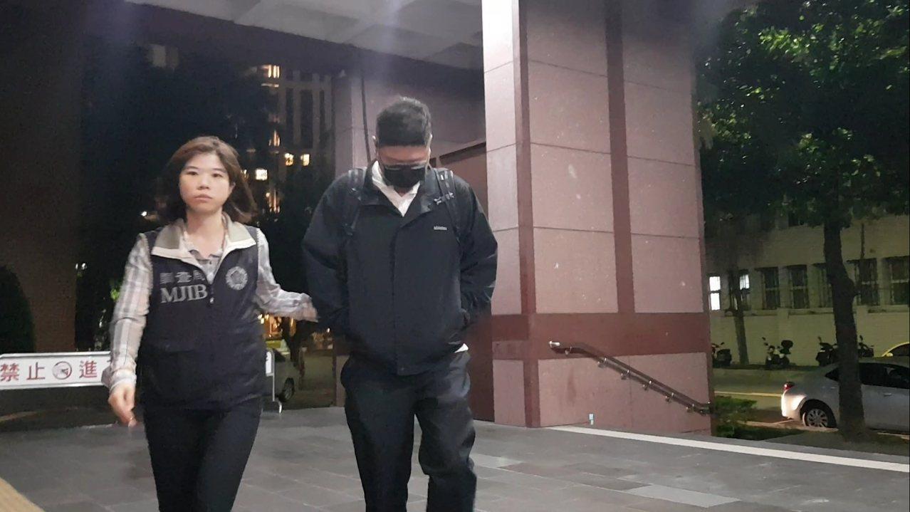 福懋課長王博民配合虛偽照會被檢方聲押。記者張宏業/攝影