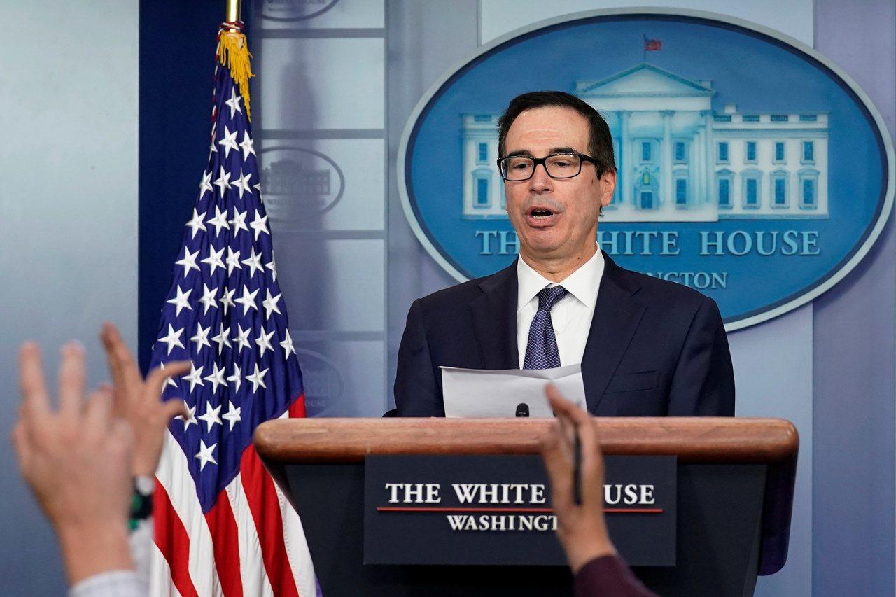 美國財政部部米努勤表示,正與中國敲定貿易協議內容,以備下個月簽署。 路透