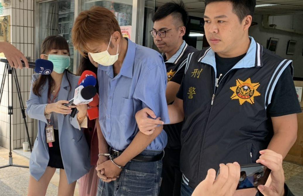 林嫌供稱擔心被查獲毒品,心虛害怕因此衝撞警車逃逸。記者林昭彰/攝影