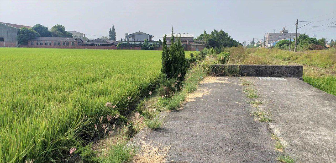 台南後壁區上茄苳里的中排600公尺農路,中間還有200公尺未開通,農民通行不方便...