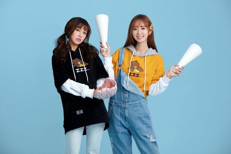 ROCKCOCO推出LINE FRIENDS「愛的好友系列」聯名單品,找來大元、...