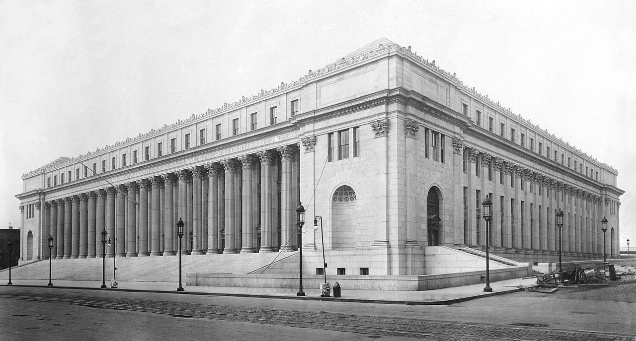 臉書和蘋果這兩家科技巨擘搶租有107歷史的紐約地標建築當辦公樓。取自維基百科,原...