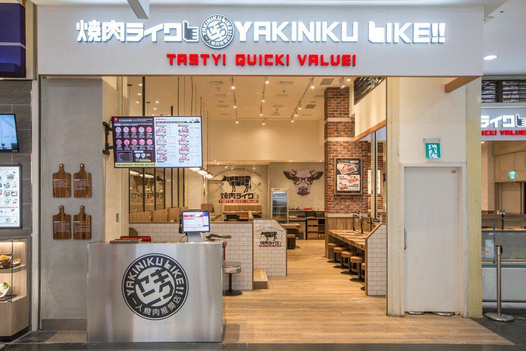 燒肉LIKE中和環球店將於10月19日開幕。圖/燒肉LIKE提供
