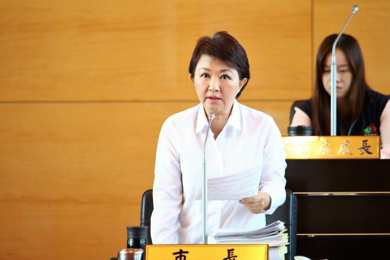 市長盧秀燕表示一切依法。記者陳秋雲/攝影