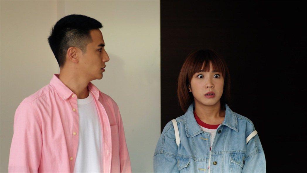 梁舒涵(右)飾演的「葉素娥」劇中將發揮「仙姑2.0」功力。圖/TVBS提供