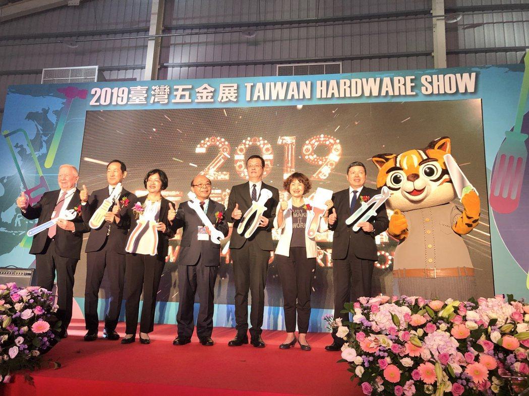 「2019台灣五金展」今日在台中國際展覽館盛大登場,超過430家廠商、攤位數破千...