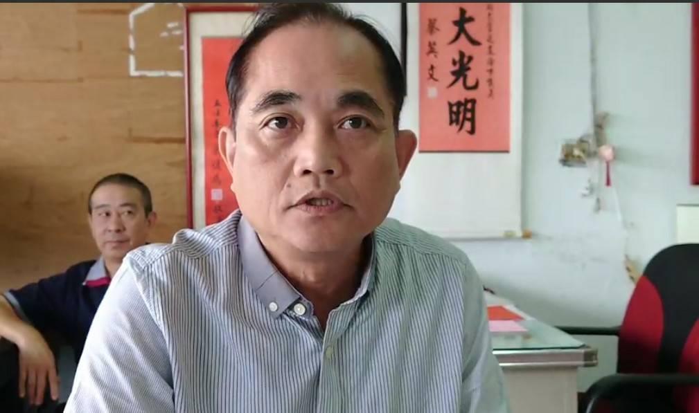 議員蘇仁和特助林坤明今天出面說明被控闗說。記者游明煌/攝影